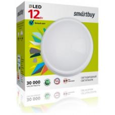 SmartBuy св-к св/д ЖКХ 12W(960lm) 4000K 4K d220x98мм круг белый IP65 SBL-HP-12W-4K