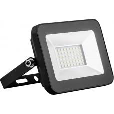 Прожектор светодиодный 20Вт 6400K 2835SMD AC220V/50Hz IP65 черный в компактном корпусе SFL90-20