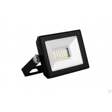 Прожектор светодиодный 10W 6400K IP65 2835SMD AC220V/50Hz черный SFL90-10 SAFFIT