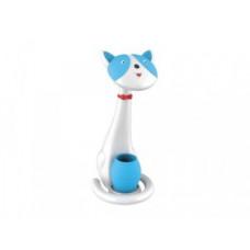 Светильник Camelion KD-852 C40 белый/голубой Кошка 6Вт 3000-6000К 380Лм ночник (6)