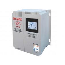 Однофазный цифровой настенный стабилизатор серии LUX РЕСАНТА АСН-3000Н/1-Ц