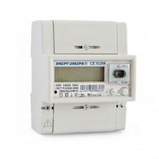 Счетчик 1ф многотарифный СЕ 102М R5 145-J 5-60А 230В DIN/ монтаж/панель Энергомера