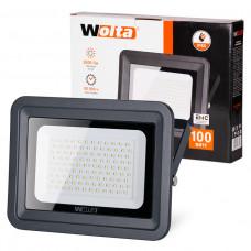 Прожектор светодиодный 100Вт 5500K IP 65 WFL-100W/06 WOLTA серый