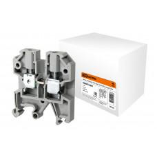 Зажим наборный ЗНИ-4мм2 (JXB35А) серый TDM