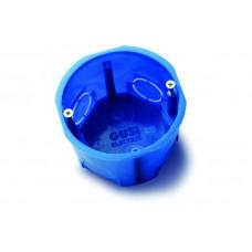 Коробка установочная д/бетона 68мм GUSI синия