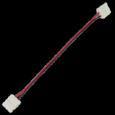 Коннектор 15см зажим-зажим 2-х конт SMD5050  Ecola