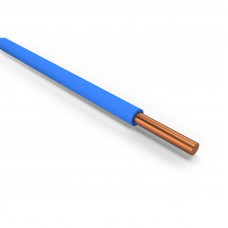 Провод ПуВ 1х1,5 синий одножильный