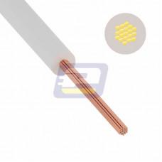 Провод ПуГВ (ПВ-3) 10 мм² 100 м белый ГОСТ