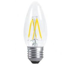 Ecola свеча E27 5W 4000K 4K прозр. 96x37 филамент (нитевидная), 360° N7CV50ELC