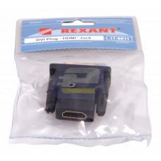 Переходник штекер DVI-I - гнездо HDMI REXANT