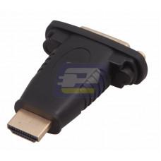 Переходник штекер HDMI - гнездо DVI-I REXANT