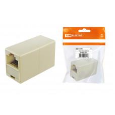 ПК Компьютерный проходник (гнездо-гнездо) 8P8C инд. упаковка TDM