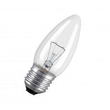 Лампа накаливания СВЕЧА прозрачная 40Вт Е27