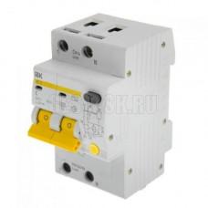 Выключатель диф. тока 2P АД12 C16 30мА IEK