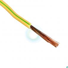 Провод ПУГВНГ 1х1,5 желто-зеленый многопров.