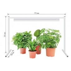 Подставка для свет-ка для растений (фито) h=350-420-490мм, L=715мм металл/белый UFP-G03S WHITE Uniel