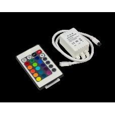 Контроллер12V 72W 6A RGB c ИК пультом CRS072ESB Ecola
