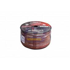 Кабель акустический 2х2,50 мм² красно-черный (бухта 100 м) REXANT