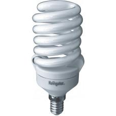 Лампа энергосберегающая 20Вт Е14 2700К NCL-SF10-20-827-E14 Navigator