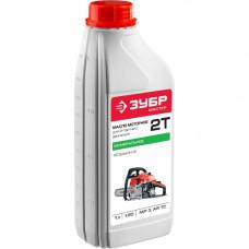 Масло для 2-х тактных двигателей бензин-масло ЗУБР 50:1,1л