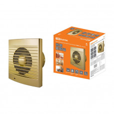 Вентилятор бытовой настенный 100 С-4 золото TDM
