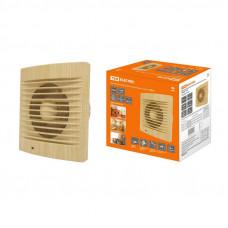 Вентилятор бытовой настенный 100 С сосна TDM