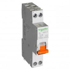 Выключатель автомат. дифференциальный 1Р 20А хар.С 4,5кА АД63 К Schneider Electric