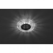 DK LD3 SL/WH Светильник ЭРА декор c белой светодиодной подсветкой, прозрачный