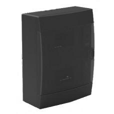 ЩРН-П 24 IP40 бокс накладной пластик черный 344х118х289мм HOROZ