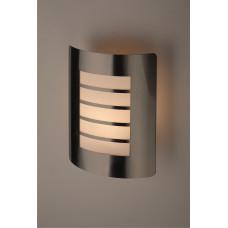 WL22 Светильник ЭРА Декоративная подсветка E27 MAX40W IP44 хром/белый (12/96)