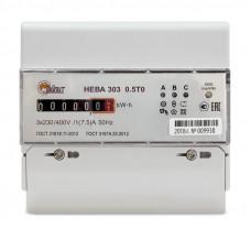 НЕВА 306  0,5T0 230V/ 1(7,5) А (индикатор напряжения пофазно)