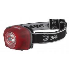 Фонарь налобный G3W 3w LED коллиматор 3хААА 4 режима ЭРА