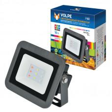 Прожектор светодиодный 10Вт RGB IP65 Volpe ULF-Q511