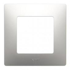 ETIKA Рамка 1 пост алюминий Legrand 672551