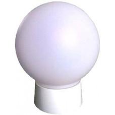 Светильник НББ-04-60 молочный основание белый пластик IP20