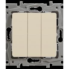 ETIKA PLUS Механизм выключателя 3 кл слонов/кость Legrand 672313
