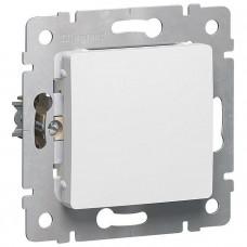 CARIVA Выключатель 1-кл в рамку белый Legrand