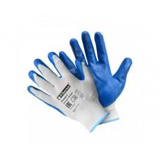 Перчатки полиэстер с нитриловым покрытием L (р.9) PSV028P (пара, цена за пару) Fiberon