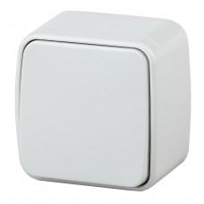 Intro Polo Переключатель 10А-250В IP20 ОУ белый