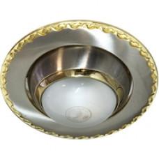 Светильник рефленный 125 R-39 E14 (NM/G) титан/золото
