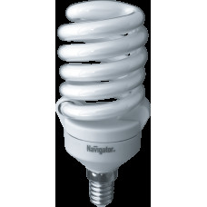Лампа энергосберегающая 20Вт Е14 2700К NCL-SF10-20-827-E14 Navigator 4607136942974