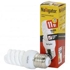 Лампа энергосберегающая 11Вт Е27 4000К NCL-SF10-11-840-E27 Navigator