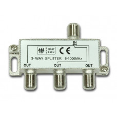 Делитель ТВ х 3 под F разъём 5-1000 MHz б/штекера BL2301
