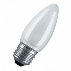 Лампа накаливания СВЕЧА матовая 40Вт E27 OSRAM CLASSIC B FR