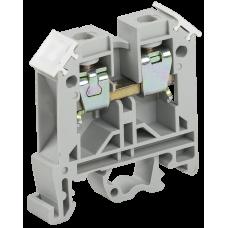 Зажим наборный ЗНИ-6кв.мм (JXB50A) серый ИЭК