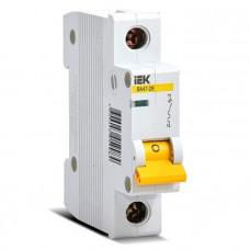 Выключатель автомат. 1Р 63А хар.C ВА 47-29 4.5кА ИЭК MVA20-1-063-C