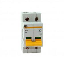 Выключатель нагрузки (мини-рубильник) ВН-32 2P 63А IEK