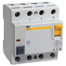 Выключатель дифф. тока 4п 32A 30mA тип AC ВД1-63 ИЭК MDV10-4-032-030