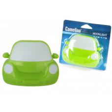Светильник-ночник Camelion NL-197 Машинка зеленая 0.5W 4LED 95x75x80 выкл.