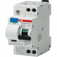 Выключатель автоматический дифференциальный (АВДТ) 1P+N C 32А 30мА ABB